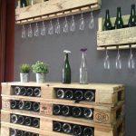 ᐅ Weinregal aus Paletten selber bauen & kaufen | DIY & Shop