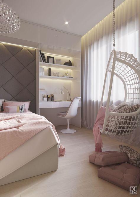 √ 45+ Popular Girls Bedroom Ideas For Splendid Makeover Of Any Bedroom