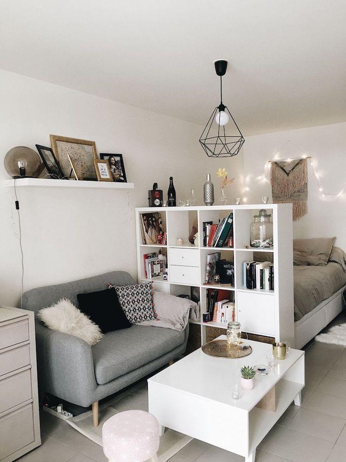 ▷ 1001 + kleine Wohnzimmerideen für Studio-Apartments – #Appartements #Ideen #L … – bingefashion.com/dekor
