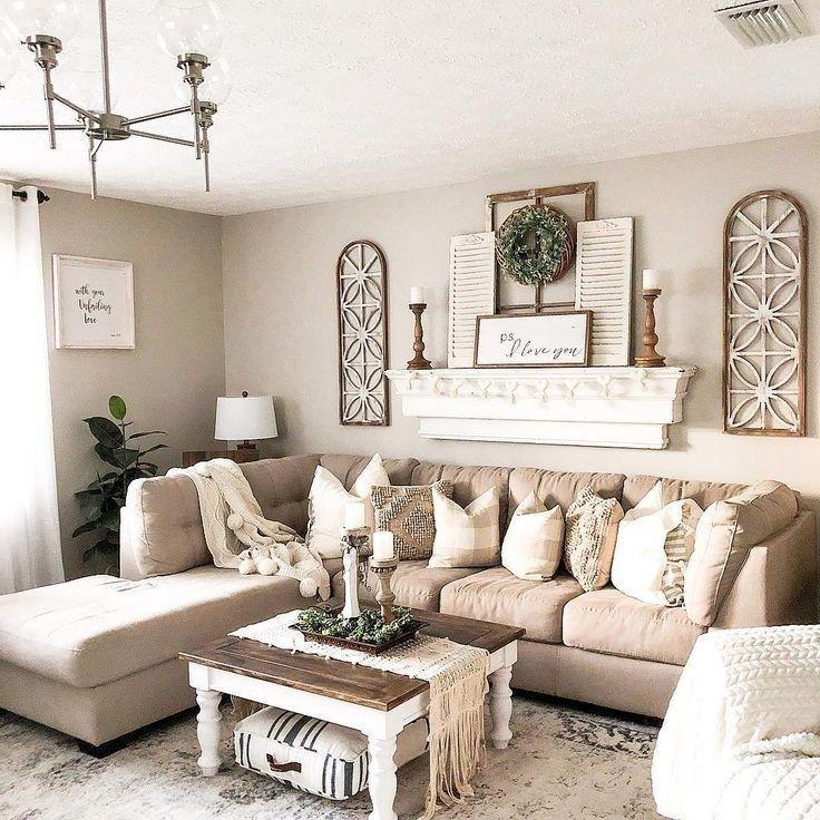 ✔45 beautiful farmhouse living room design and decor ideas 1 ~ aacmm.com