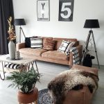 1 Brown Leather Sofa 15 Different Living Room   - Brown Leather Sofa - #Brown #l...