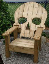 10 Adirondack chair ideas for your patio- 10 Adirondack Stuhl Ideen für Ihre Te…