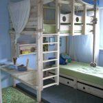 10+ Beste Etagenbetten für Kinder und Jugendliche mit Storage Design-Ideen - bingefashion.com/interior