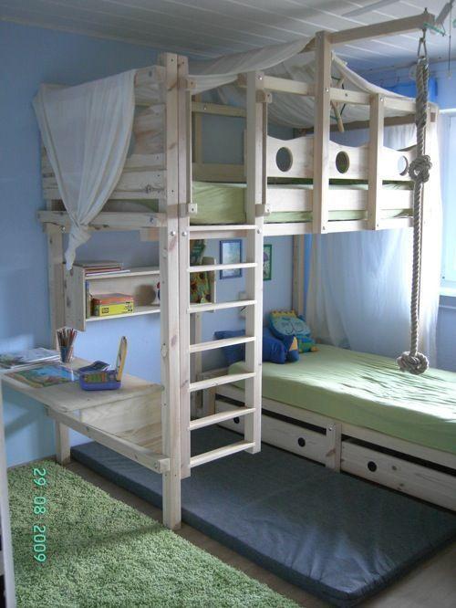 10+ Beste Etagenbetten für Kinder und Jugendliche mit Storage Design-Ideen – bingefashion.com/interior