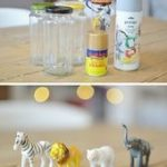 10 Brilliant DIY home Decor ideas, Check out the tutorial: #DIY Gold Animal Jars... - Home Decor Art