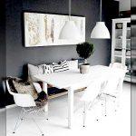 10 moderne Schwarz-Weiß-Esszimmergarnituren, die Sie begeistern werden