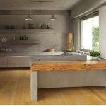 11 étonnantes idées de design de cuisine en béton - Decorchambre