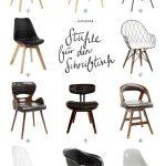 11 schöne Stühle für den Schreibtisch #office #chair #interiordesign #interio...