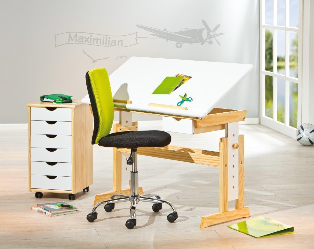 12 Klassisch Galerie Von Kinderschreibtisch Weiß Höhenverstellbar Mit Schublade