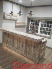 15 Küchentransformationen aus Palettenholz: Insel-, Arbeitsplatten- und Schrank…