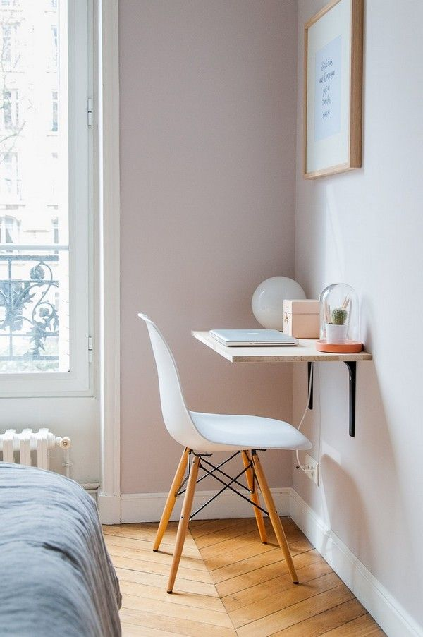 15 Very Small Desk Ideas That Will Surprise You With The Functionality – The ART in LIFE