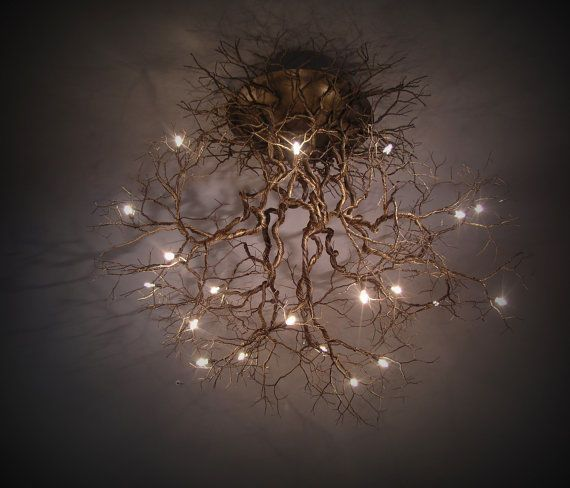 15 really intriguing DIY chandeliers #lighting #fresh ideas #shipping light …