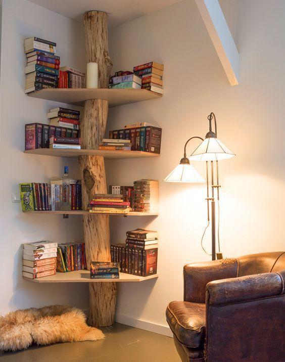 15 wahnsinnig kreative Bücherregale, die Sie sehen müssen – Regal-Bücherregal – Ideen von – bingefashion.com/dekor