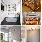 Dream Closet weißer Kleiderschrank Einbauschrank Holzböden begehbarer Kleiders...