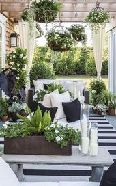 31 Stylische Ideen für Outdoor-Vorhänge, um Ihren Außenbereich aufzufrischen