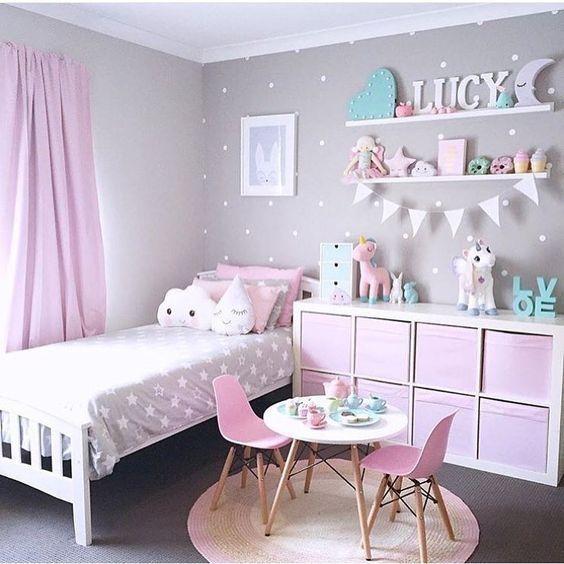Ideen für Mädchen Kinderzimmer zur Einrichtung und Dekoration. DIY Betten für… – Wohnung ideen