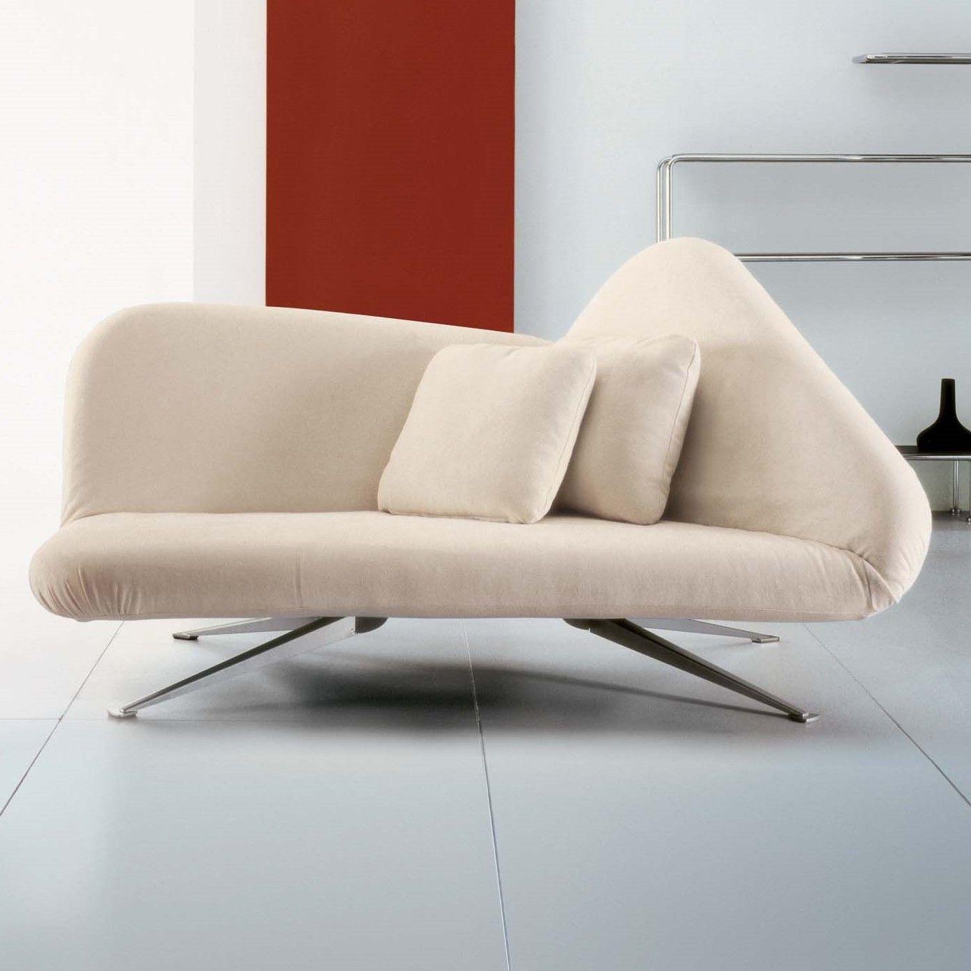 Papillon weißes Schlafsofa mit modernem Design – ARREDACLICK