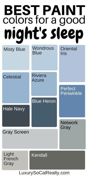 What Colors Make You Sleep Better? (Best Bedroom Colours) – pickndecor.com/furniture