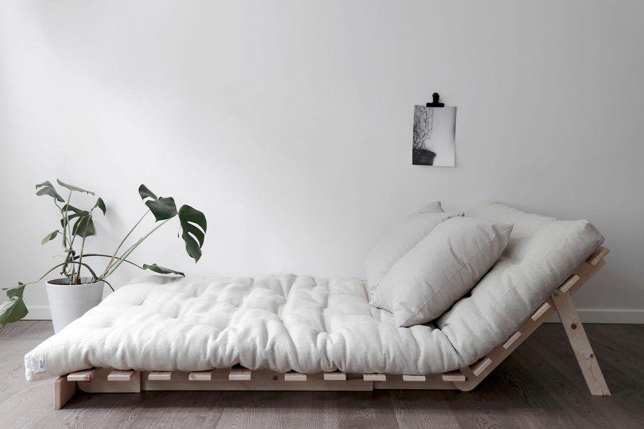 Karup Design Schlafsofa »Roots«, inkl. Futonmatratze, Liegefläche 140×200 cm