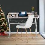 Maja Möbel Set + Schreibtisch 150x70x75cm platingrau / grau Glas Majamaja,  #150x70x75cm #Gla...