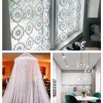 Spitzen häkeln Cafe Vorhang hängen Fenster Volant Net Panel #IdeenfrGardinen #...
