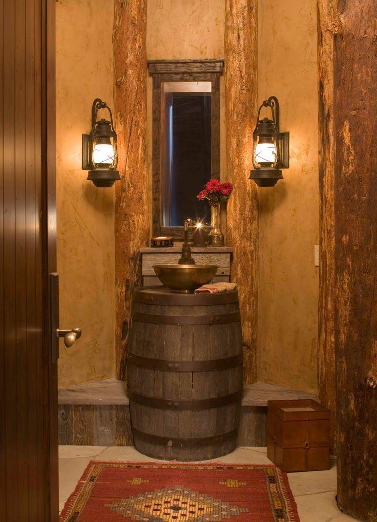 Rustikale Badezimmer-Beleuchtungs-Ideen  Rustikale Badezimmer-Beleuchtungs-Ideen…