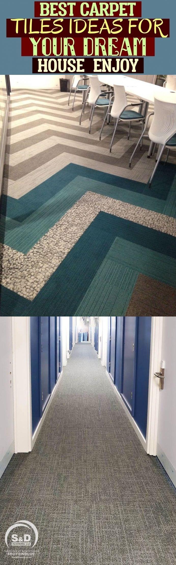 Best Carpet Tiles Ideas For Your Dream House – Enjoy | #carpettiles beste teppic…