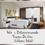 Weiße Schlafzimmersets Treffen Sie eine   exklusive Wahl Schlafzimmer-Set 4teil...