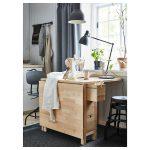 NORDEN Gateleg table - birch - IKEA