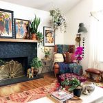 47 Romantic Bohemian Style Living Room Design Ideas - rengusuk.com