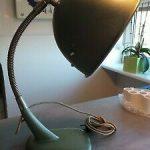 CHRISTIAN DELL BÜNTE & Remmler GOETHE LAMPE Bauhaus Schreibtischlampe Lamp 1930...