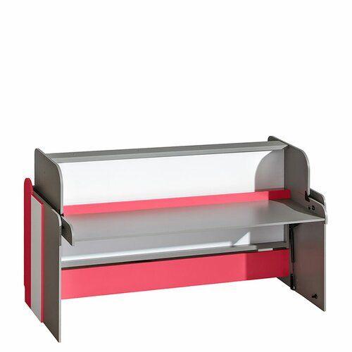 Isabelle & Max Einzelbett Burton mit Schreibtisch, 80 x 190 cm | Wayfair.de