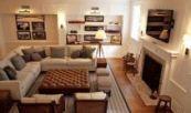 16+ Ideen für Wohnzimmermöbel Arrangement Ideen Schnitt moderne #Livingro …-…