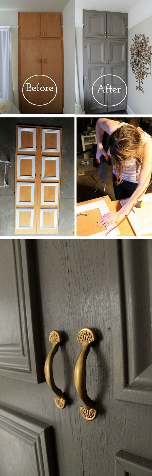 16 einfache DIY-Türprojekte für erstaunliche Wohnkultur auf einem Etat – wie m… – LastStepPin