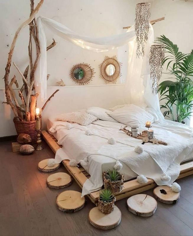 17+ Inspiring Bohemian Style Bedroom Decor Design Ideas – lmolnar