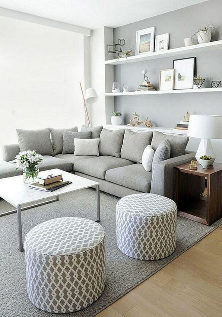 18+ Cozy Modern Minimalist Living Room Design Ideas for Inspiration. To create a… – Home Decoraiton