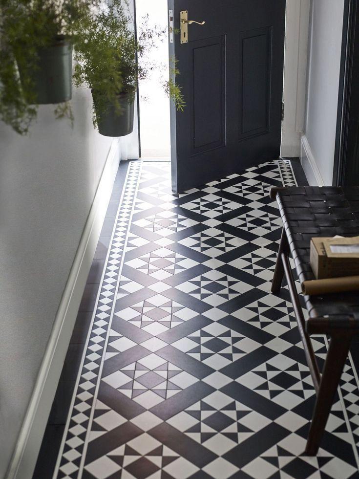 18 Ideen für die Dekoration von Fluren – Ideen für Farben, Möbel, Fußböden …