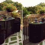 18 Kreative platzsparende Ideen für Ihren Balkon, die jeder sehen muss