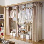 18 Tidy Curtain Closet Doors To Conquer The Mess - #closet #conquer #curtain #do...