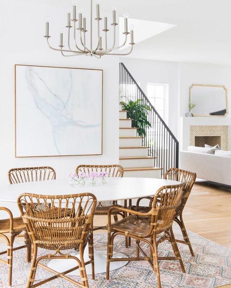 18 wunderbare moderne Esszimmer – moderne Esszimmergarnituren #Dining #Ma …