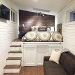 19 Ein Plattformbett mit darunterliegendem Stauraum – #darunterliegendem #Ein #h… - https://bingefashion.com/haus