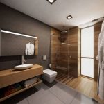20+ Awesome Plywood Bathroom Wall Design Ideas Modern House