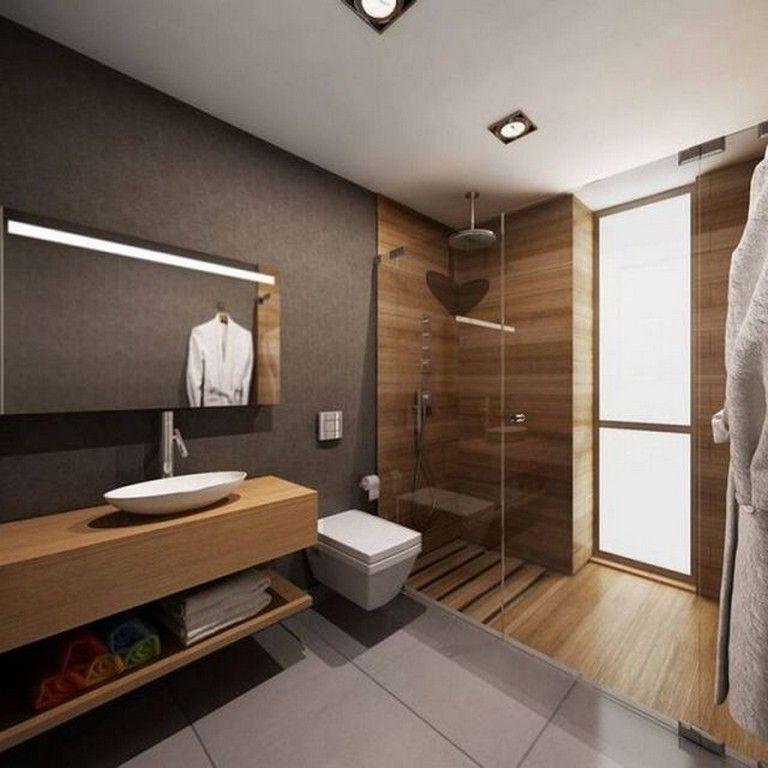 20+ Awesome Plywood Bathroom Wall Design Ideas Modern House