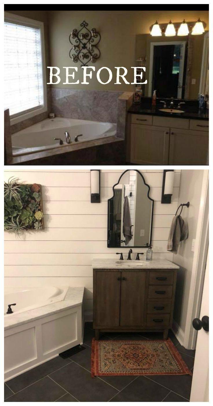 20 Bathroom Makeovers- Before and Afters ,  #Afters #Bathroom #bathroomremodelbeforeandafter …