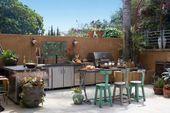 20 Neueste Outdoor-Küchen-Designs