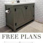 20 Upcycled und einzigartige Badezimmer-Waschtische #darkBathroomVanities - #Adv...