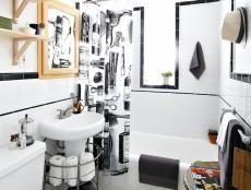 20 Upcycled und einzigartige Badezimmerwaschtische    Traditional Barbering