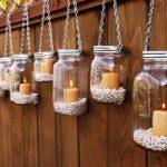 20 creative decorating craft ideas for the garden -DIY candle lanterns