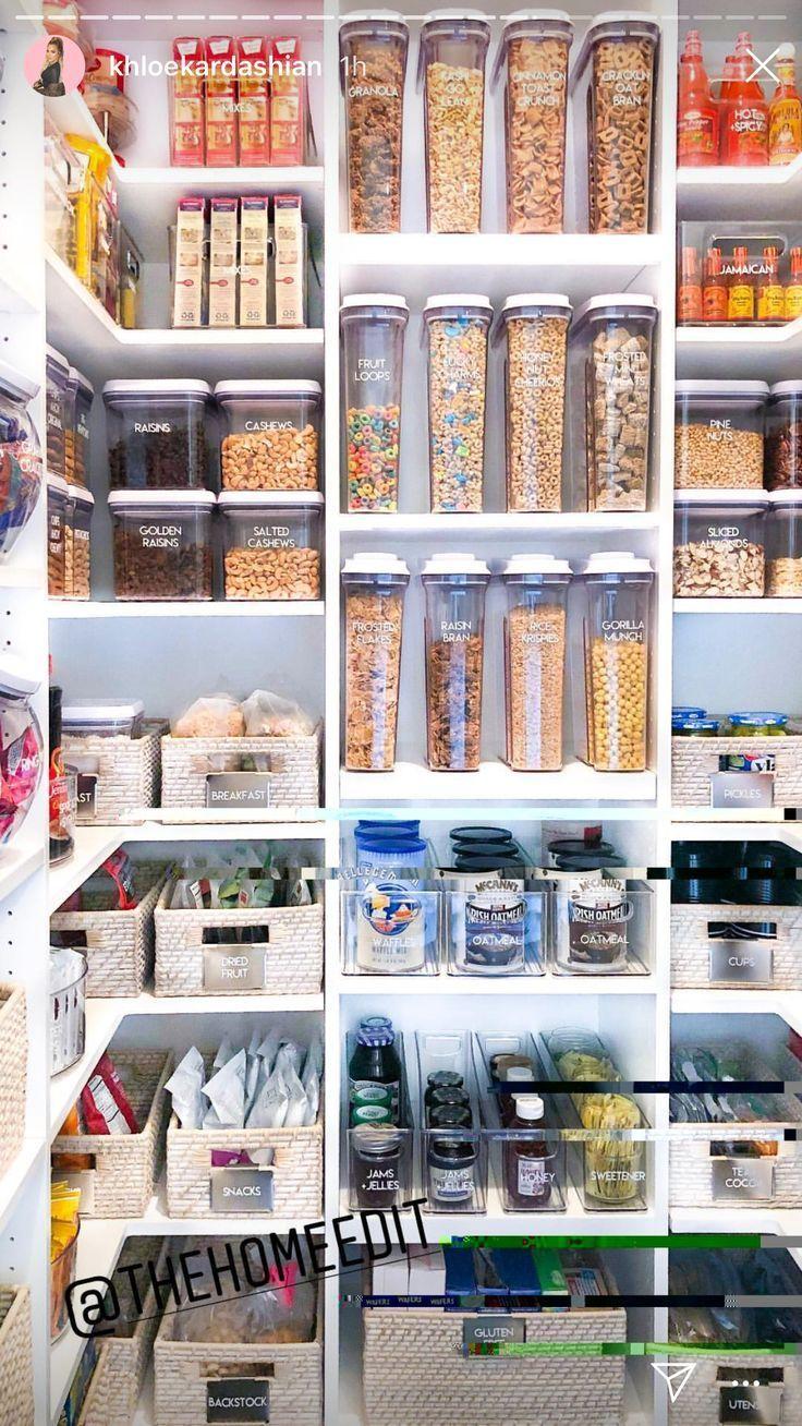 20+ umwerfende Küchen-Pantry-Design-Ideen für Ihre Inspiration – #Design #ide … – bingefashion.com/dekor
