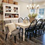 21+ Amazing Rustic Farmhouse Dining Room Design Ideas - #Amazing #Design #Dining...